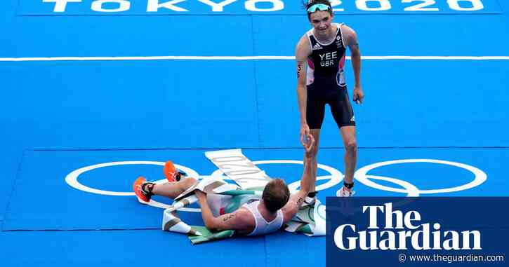 GB's Alex Yee claims silver medal in Olympic triathlon at Tokyo 2020