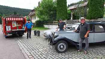 Oldtimerfreunde Bad Liebenzell - Sogar Gangsterwagen ist im Enztal zu sehen - Schwarzwälder Bote
