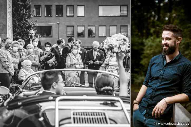"""Internationale jury bekroont foto van huwelijk in tijden van corona: """"Voortaan iedere dag streven naar een prijswinnend kiekje"""""""