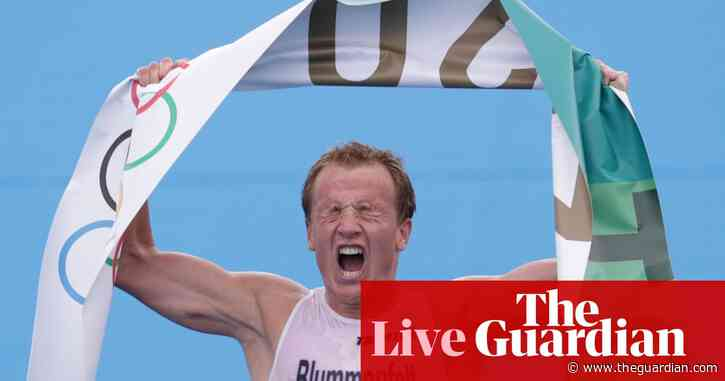 Olympics 2020 day three: Kristian Blummenfelt wins men's triathlon ahead of Alex Yee, swimming, gymnastics and more – live!