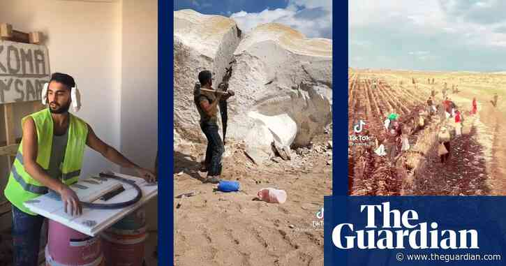 Turkey's labourers take to TikTok to show millions their harsh work conditions – video