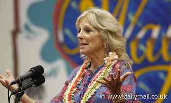 Jill Biden promotes COVID vaccines and attracts group of anti-vax Trump supporters
