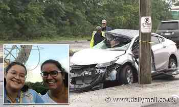 Mother and daughter are killed when 'drunk driver slams into their car' in NYC