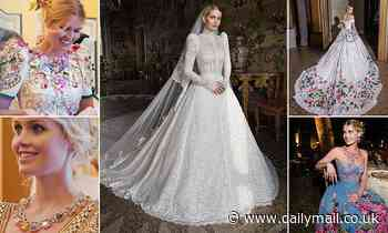 ALISON BOSHOFF: The FIVE dazzling dresses Lady Kitty Spencer wore at her wedding revealed