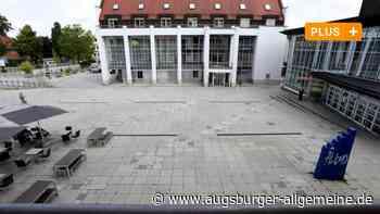 Betonwüste Rathausplatz: Gersthofens Mitte soll grüner werden - Augsburger Allgemeine