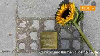 Neue Stolpersteine bringen in Gersthofen Naziopfer ins Gedächtnis - Augsburger Allgemeine