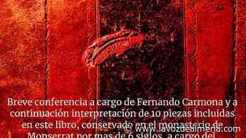 Evento: Llibre Vermell - Coro EPMC - La Voz de Almería