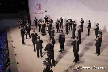 El coro de voces graves de Villarrobledo (Albacete), protagonista de la velada - EFE - Noticias