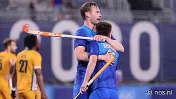 Hockeyers halen opgelucht adem na belabberde start tegen Zuid-Afrika - NOS