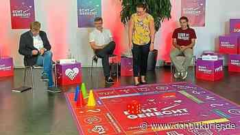 Ingolstadt: Würfeln, fragen, antworten - Bundestagskandidaten-Quartett Ley, Brandl, Meier und Siebler stellt sich dem DGB-Spiel - donaukurier.de