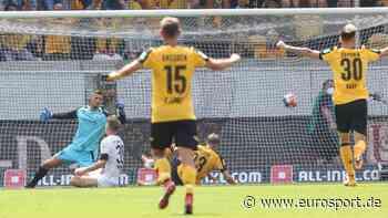 2. Bundesliga: Dresden mit Gala-Auftritt gegen Ingolstadt zum Saisonauftakt - Rostock unterliegt zuhause gegen den KSC - Eurosport DE