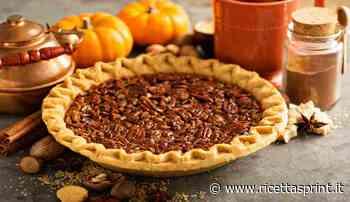 Crostata al cioccolato con noci pecan e caramello | una squisita bontà - RicettaSprint