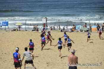 Anglet : une 29e édition de l'Anglet Beach Rugby marquée par le Covid - Sud Ouest