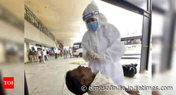 Coronavirus live updates: India reports 39,361 cases and 416 deaths in the last 24 hours - Times of India