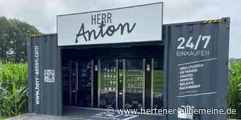"""""""Herr Anton"""" liefert regionale Produkte auf Knopfdruck in Haltern - Hertener Allgemeine"""