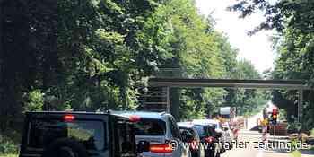 Brücke über der Münsterstraße wird saniert – Fahrbahnsperrung geplant - Marler Zeitung