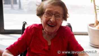À l'EHPAD Jean-de-Luxembourg d'Haubourdin, Renée Valle a fêté ses 100 ans - La Voix du Nord