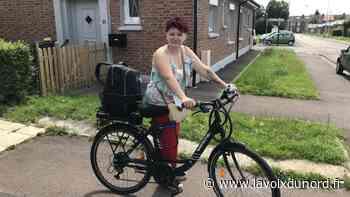 Haubourdin: coiffeuse à domicile, elle va chez ses clients à vélo - La Voix du Nord