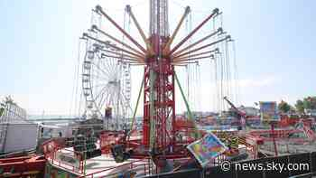 Planet Fun: Injuries on funfair ride caused by teenagers misbehaving, owners claim - Sky News