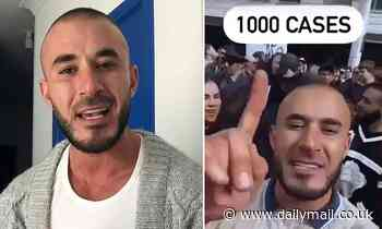 Man called out after saying there would be 1000 cases after protests tries to justify himself