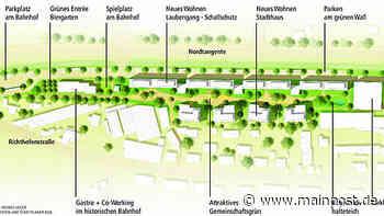 Neues Wohnen in Kitzingen: Das grüne Projekt Etwashäuser Bahnhof - Main-Post