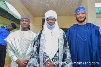 Zamfara governorship aspirant receives APC leaders, visits Yari, Emir (PHOTOS) - Premium Times