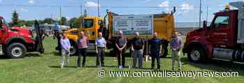 Construction of Morrisburg roundabout begins with sod-turning - Cornwall Seaway News
