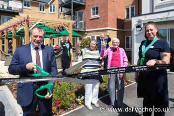 MP opens Southampton's newest retirement living development