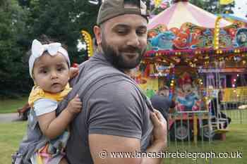 Families enjoy Eid in the Park festival