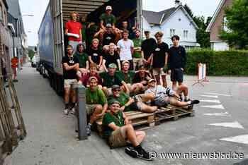 Jongens Chiro Londerzeel zijn terug van kamp