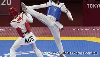 Marton outclassed in Olympic Taekwondo - Armidale Express