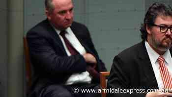 Barnaby backs MP on anti-lockdown protest - Armidale Express
