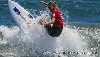 Gilmore eliminated from Olympics surfing - Armidale Express