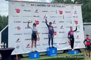 """Alicia Franck 3de in 3 Nations Cup MTB: """"Kijk uit naar meer mountainbike"""""""