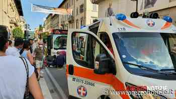 Restano gravi le condizioni della ragazza investita dal bus davanti ai Portici - ArezzoNotizie