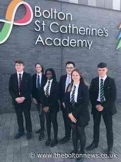 Bolton St Catherine's Academy pupils unveil smart new look as they bring back the art of tying a tie