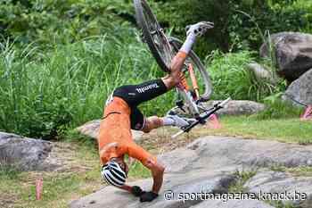 Liveblog Spelen: Mathieu van der Poel stapt uit mountainbikewedstrijd na zware val