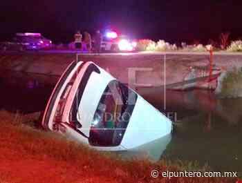 Mueren bebé y su madre ahogadas tras caída a canal en Delicias; conductor huyó - El puntero