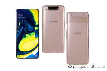 Samsung Galaxy A80 Getting July 2021 Android Security Patch: Report