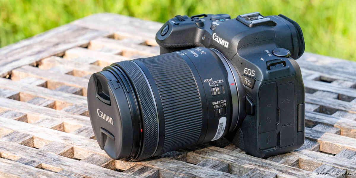 Canon EOS R6 mit RF 24-105mm f/4,0-7,1 IS STM ausprobiert - photoscala