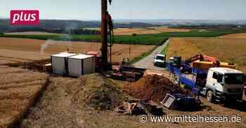 Limburg-Weilburg: Bohrung für Grundwassermessstelle beginnt - Mittelhessen