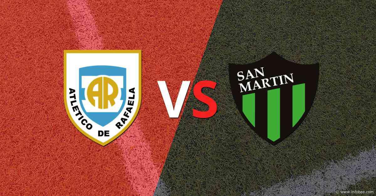 Con doblete de Matías Giménez, San Martín (SJ) derrotó a Atlético Rafaela - infobae