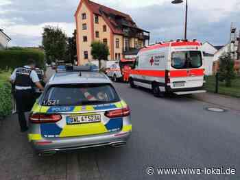 Mühlhausen-Rettigheim: Verkehrsunfall mit schwerverletzer Radfahrerin - Rettungshubschrauber im Anflug - www.wiwa-lokal.de
