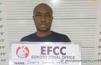 Sokoto University student Oladapo Philip bags 10-years for cyber fraud 1 day ago - P.M. News