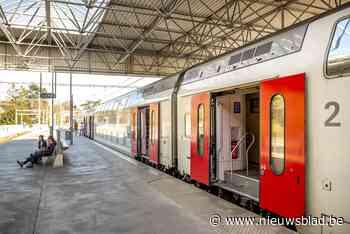 Geen treinverkeer tussen Hasselt en Genk - Het Nieuwsblad