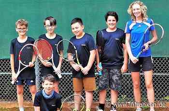 Tennisknaben werden Meister