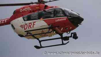 Unfall nahe Furtwangen - Motorradfahrer und Mitfahrerin auf B 500 schwer verletzt - Schwarzwälder Bote