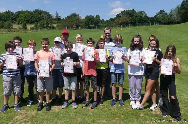 Ausgezeichnete junge Golferinnen und Golfer