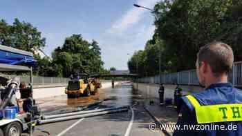 Einsatz in den Hochwassergebieten: Auch THW-Helfer aus Westerstede vor Ort - Nordwest-Zeitung
