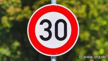 Auf der Hauptstraße: Kreis Pinneberg sieht keine Möglichkeit für Tempo 30 in Appen   shz.de - shz.de